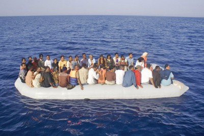лодка мигранты беженцы
